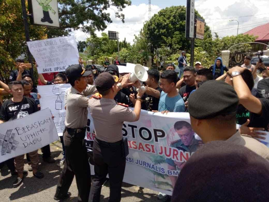 Tuntut Keadilan, Aliansi Jurnalis BMR Akan Kawal Sidang di PN Kotamobagu Berita Kotamobagu Berita Nasional Sulut
