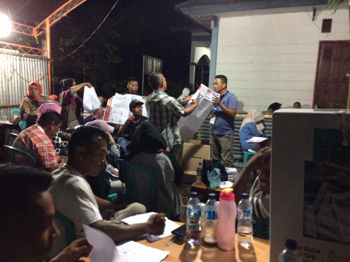 PSU TPS 1 Upai: Terjadi Selisih, Surat Suara DPRD Provinsi Sulut Dihitung Ulang Berita Politik
