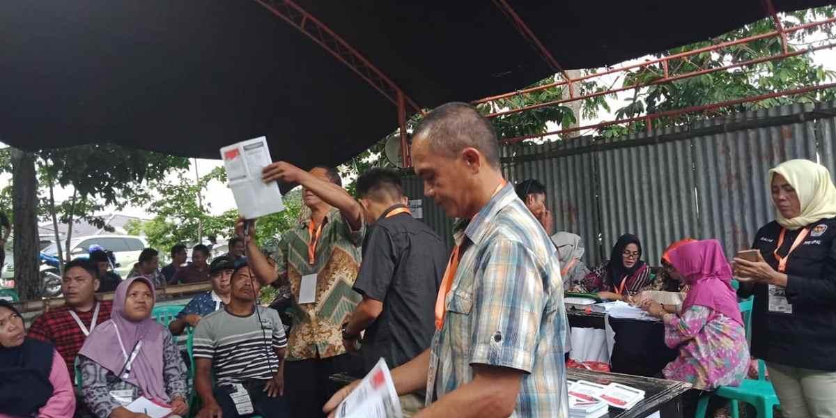 PSU TPS 1 Upai: Suara Jokowi- Amin Bertambah 11, Prabowo- Sandi Berkurang 16 Berita Politik