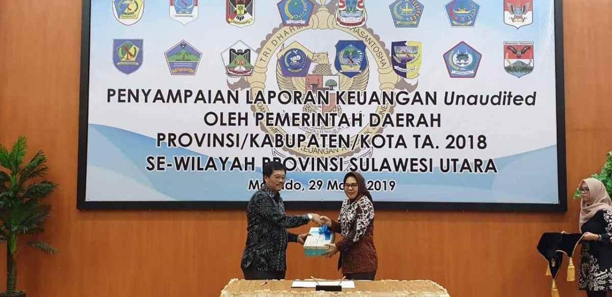 Walikota Serahkan LKPD Kotamobagu Tahun 2018 Kepada BPK RI Advertorial