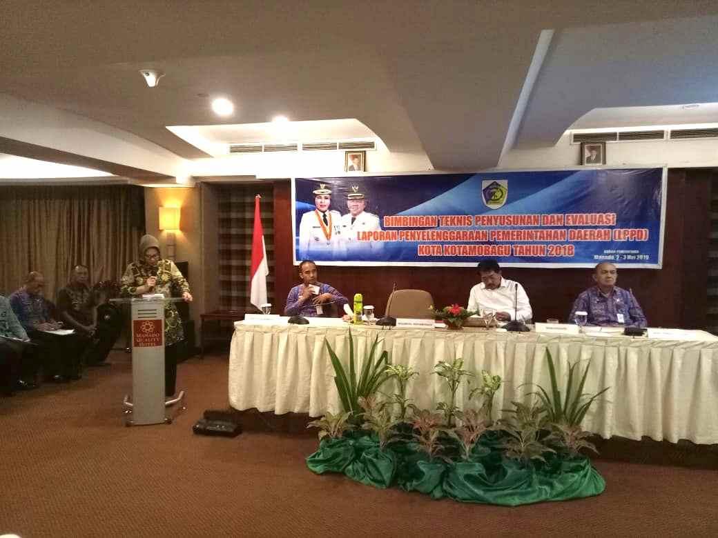 Tatong Bara Buka Bimtek LPPD di Manado Berita Kotamobagu