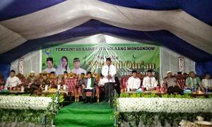 Pemkab Bolmong Peringati Nuzulul Quran di Desa Bakan Berita Bolmong