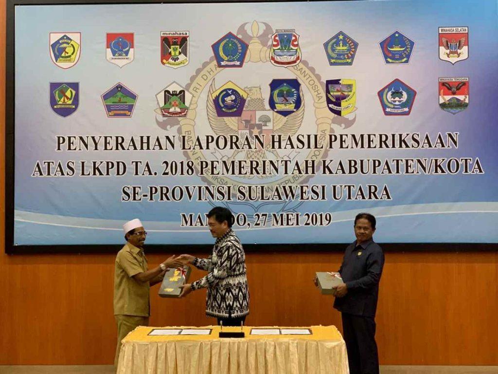 Kabupaten Boltim Sukses Raih WTP Enam Kali Advertorial Berita Boltim Sulut