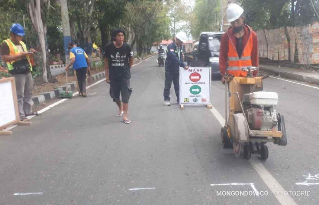 Perbaikan Jalan Mulai Dilaksanakan PUPR Kotamobagu Berita Kotamobagu