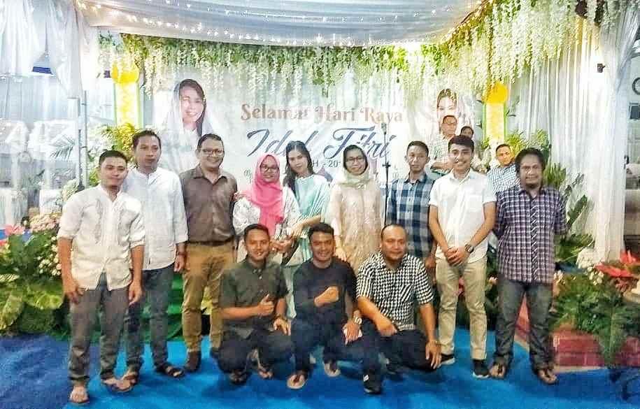 Idul Fitri, Diskominfo- SJB Silaturahmi dengan Bupati dan Sekda Bolmong Berita Bolmong