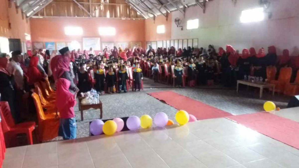 Dibuka Langsung oleh Camat, Wisuda TK di Kecamatan Helumo Sukses Dilaksanakan Advertorial Berita Bolsel Berita Nasional Sulut