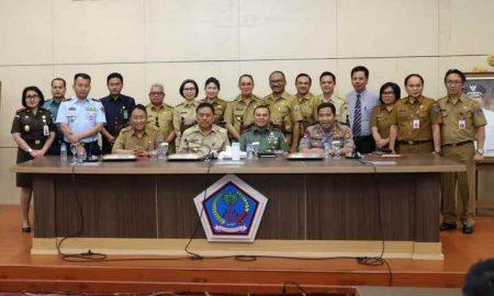 Dua Kegiatan Pemkab Bolmong, Penanganan Karhutla hingga Salurkan Bantuan Pangan Berita Bolmong
