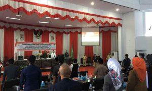 Ditetapkan di Sidang Paripurna, Berikut Susunan Pimpinan dan Fraksi di DPRD Kotamobagu Berita Politik