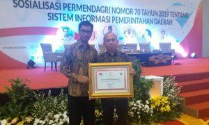 Pemkab Bolmong Terima Penghargaan Dari Kemendagri Berita Bolmong