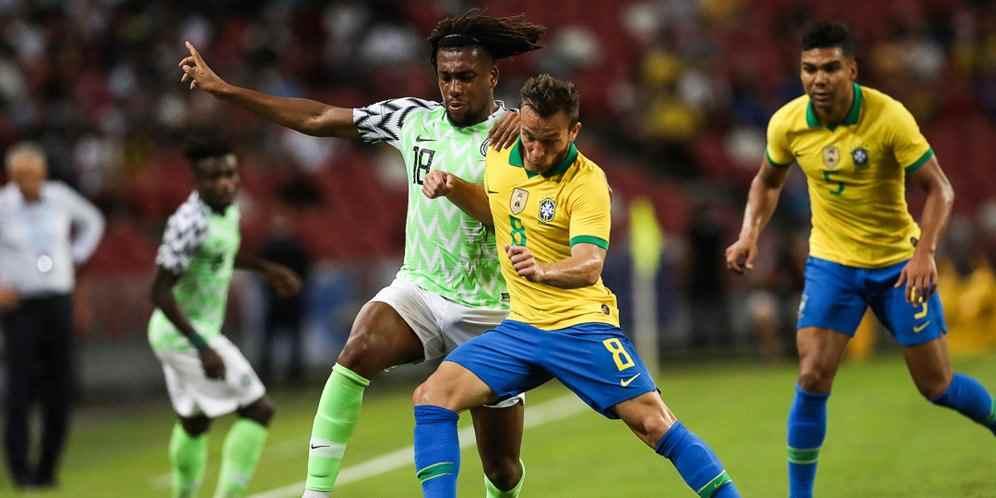 Brasil Ditahan Imbang Nigeria di Singapura Berita Olahraga