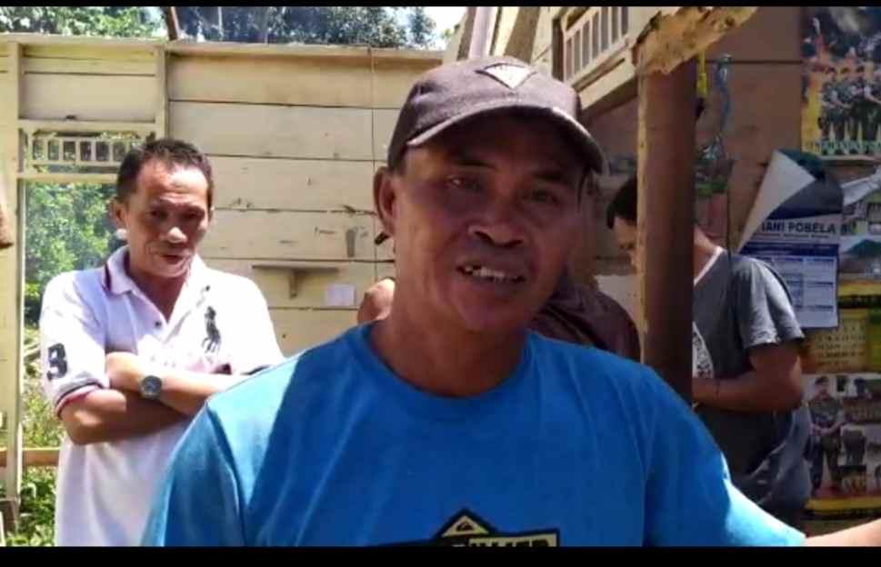 Samsudin Manggo Bantu Hadin Datunsolang, Diberikan Sebidang Tanah untuk Pembangunan Rumah Berita Bolmong Berita Nasional Sulut
