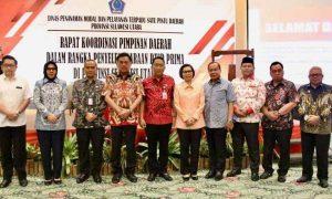 Wali Kota Hadiri Rakorpimda PTSP Prima Berita Kotamobagu