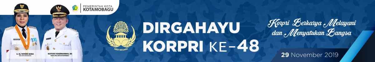 Iklan Resmi Pemerintah kota Kotamobagu