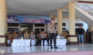 Kapolres Bolmong Berkantor di Dumoga Timur, Esok Apel Perdana di Pusian Berita Bolmong Berita Hukum