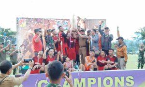 Yon Armed Bogani Cup IV, Bolaang Uki Kampiun Berita Bolmong Berita Daerah Berita Olahraga