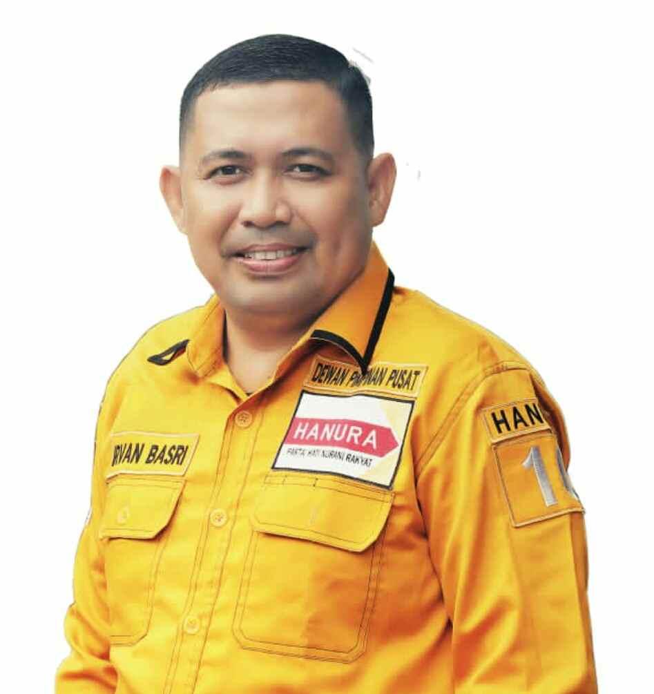 Putra BMR Irvan Basri, Ketua Bidang Politik DPP Hanura Berita Daerah Berita Nasional Berita Politik Sulut