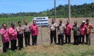 5 Hektar Lahan Disiapkan Pemkab Bolmong, Tahun Depan Pembangunan Mapolres Dimulai Berita Bolmong Berita Hukum