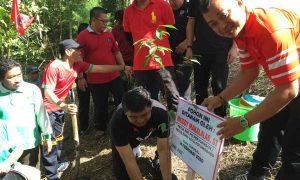 PDI Perjuangan Kotamobagu Tanam 1000 Pohon di Hutan Kota Berita Bolmong