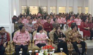 Bupati, Wabup dan Ketua DPRD Bolmong Hadiri Syukuran Empat Tahun ODSK Pimpin Sulut Berita Daerah Berita Nasional Sulut