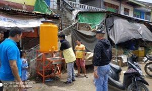 Antisipasi Penyebaran Korona, Pemkot Siapkan Wadah Cuci Tangan Di Pasar Berita Kotamobagu