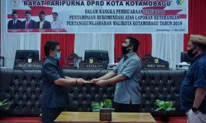 DPRD Kotamobagu Gelar Paripurna LKPJ Tahap II Advertorial