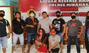 Cabuli Tiga Remaja, Ayu dan Yuni Waria Asal Bolmong Diringkus Resmob Minahasa Berita Bolmong Berita Hukum