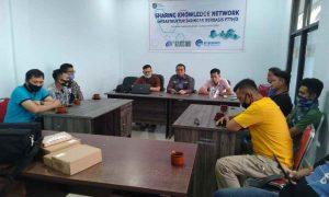 Diskominfo Bolmong dan PT JLM Sharing Knowledge Berita Bolmong