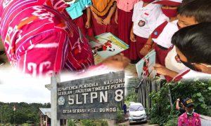 Tim Disdik Lalui Medan Extrem Kunjungi Sekolah di Pelosok Bolmong Berita Bolmong