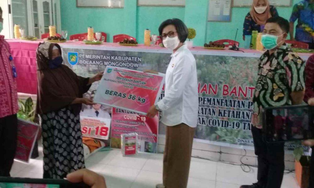 Bantuan Tahap 3 Pemkab Bolmong Mulai Disebar, Trio Pimpinan Daerah Kompak Berita Bolmong