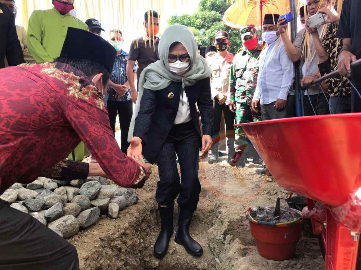 Pembangunan Masjid Al-Hidayah Lolak Dimulai, Yasti: Ada Dana Tambahan Rp200 Juta dari Pemkab dan Hamba Allah Berita Bolmong