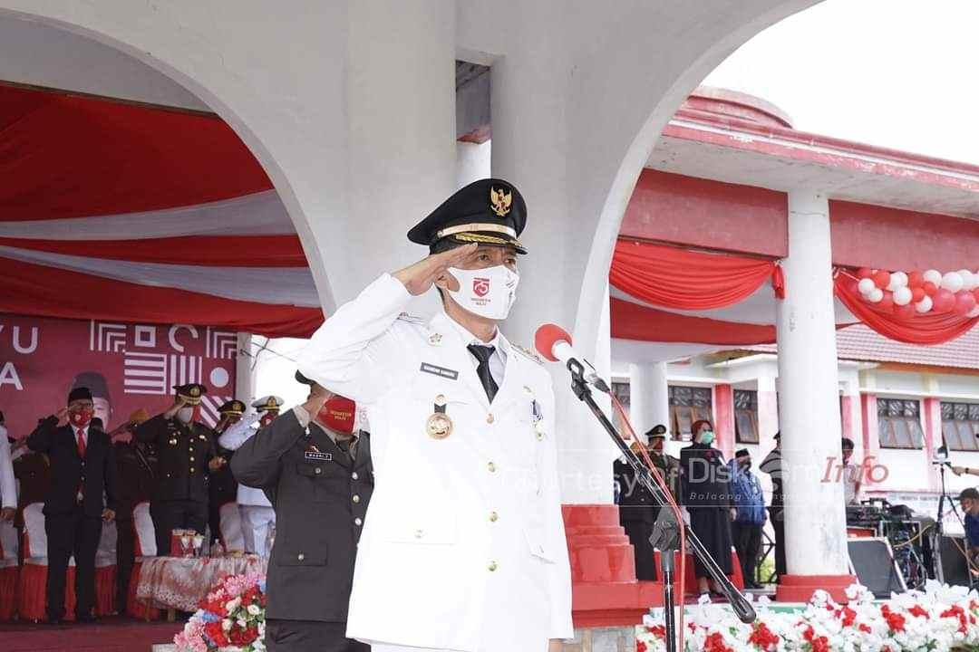 Dari Perayaan HUT ke-75 Tahun Kemerdekaan Indonesia, Bupati Ajak Tingkatkan Rasa Nasionalisme Advertorial Berita Bolsel