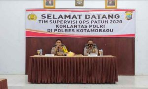 Tim Supervisi Korlantas Polri Sambangi Polres Kotamobagu Berita Kotamobagu