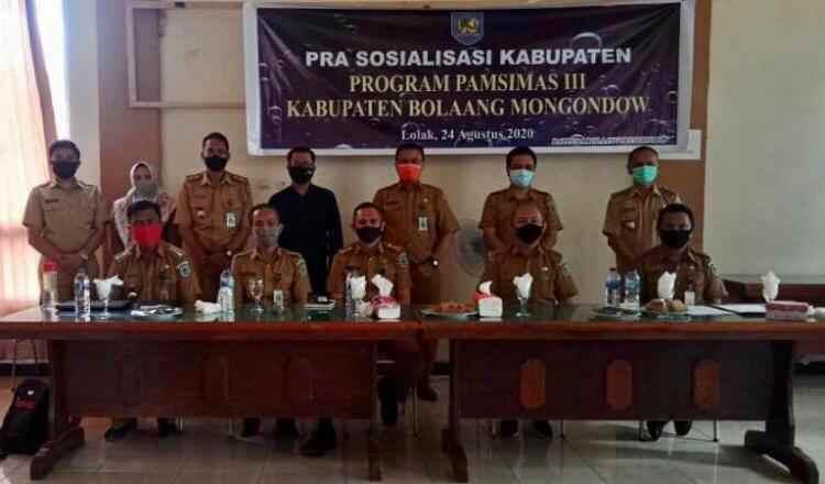 Bappeda Bolmong Gelar Rapat Pra Sosialisasi Pamsimas Berita Bolmong