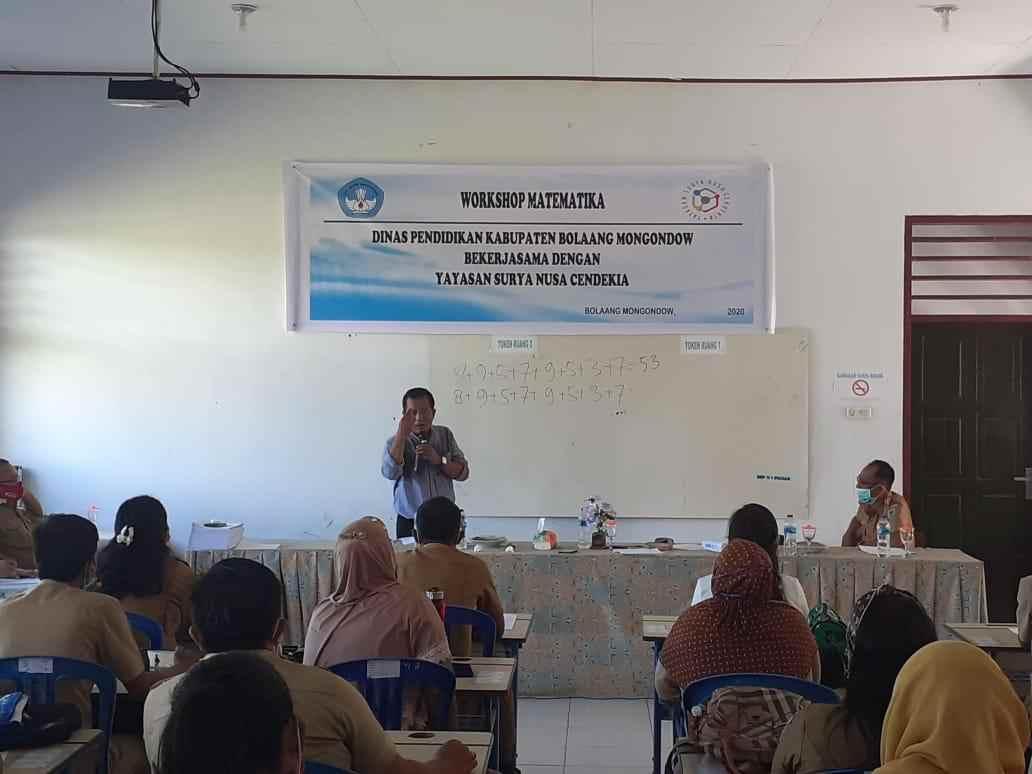 200 Guru di Bolmong Ikut Workshop Peningkatan Mutu Berita Bolmong