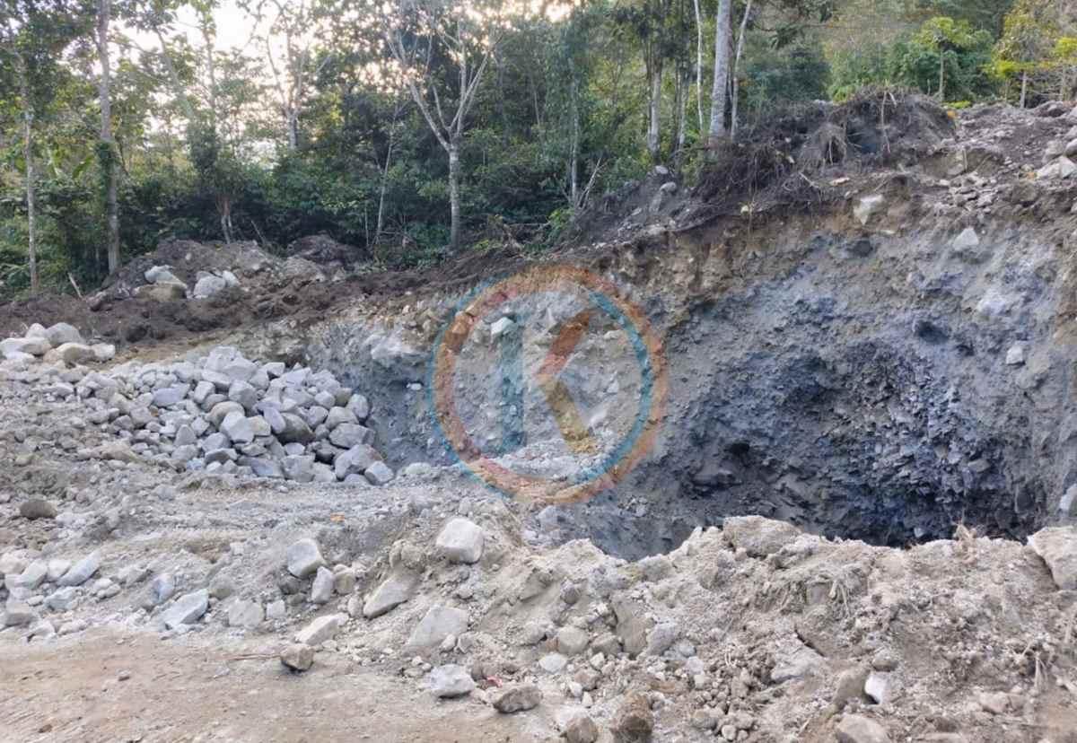 Ada Galian C Ilegal di Kawasan HPT Mintu, Material Diduga Digunakan untuk Proyek Jalan Mooat- Motongkad Berita Boltim