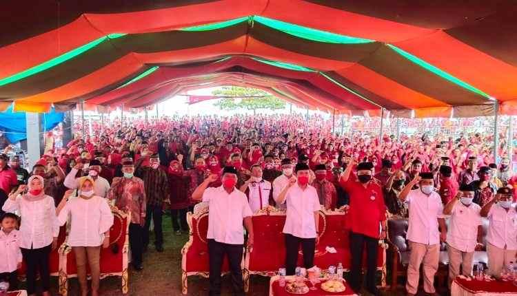 BERKAH Sangat Siap Menang di Pilkada Bolsel, Mendaftar Pertama dan Diantar Ribuan Pendukung Berita Bolsel Berita Nasional Sulut