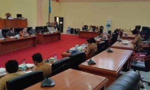 Bapemperda DPRD Bolmong Bahas Dua Ranperda Lanjutan Advertorial