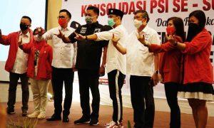 Rapatkan Barisan, PSI Pastikan Olly-Steven Tetap Lanjutkan Keberhasilan Berita Politik Sulut