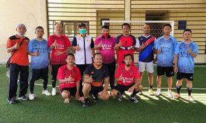Pererat Silaturahmi dengan Insan Pers, Dispora Bolmong Gelar Pertandingan Futsal dan Catur Berita Bolmong