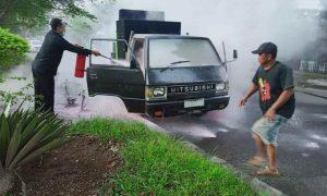 Video: Mobil Nyaris Terbakar di Jalan Paloko Kinalang Berita Hukum Berita Kotamobagu