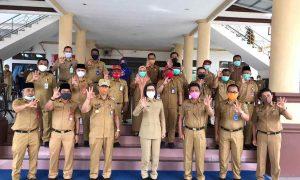 Silaturahmi dengan Pemkab Bolmong, Pjs Bupati Bolsel: Anak Jangan Pernah Lupa Induknya Berita Bolmong Berita Bolsel