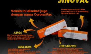 Mengenal Sinovac, Vaksin Yang Digunakan Di Indonesia