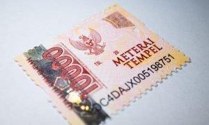Begini Cara Menggunakan Materai Rp 3.000 Dan Rp 6.000