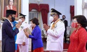 Jokowi Lantik ODSK, Tatong Ucapkan Selamat